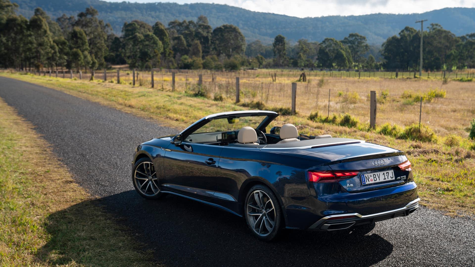 Audi A5 Cabriolet Alluring Convertible Audi Australia