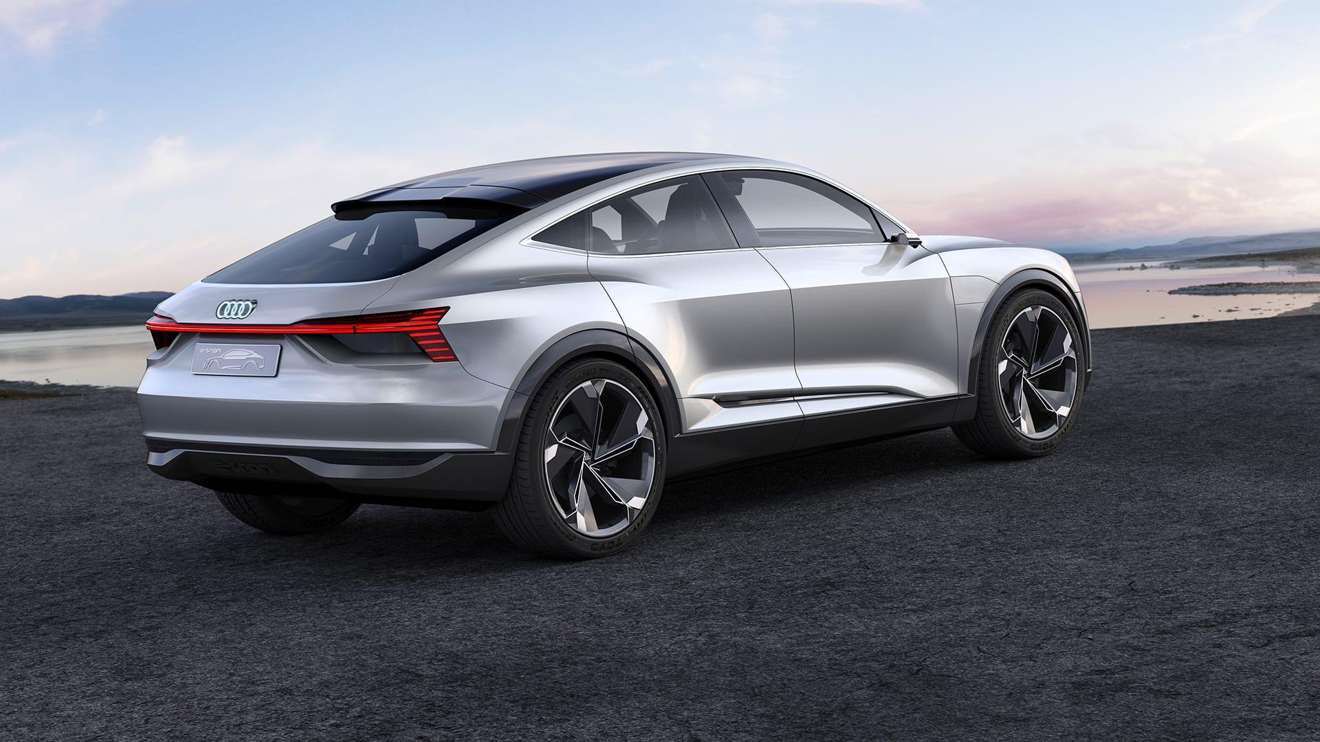 Audi Etron Sportback Concept Tron Audi Australia Official - Audi e car