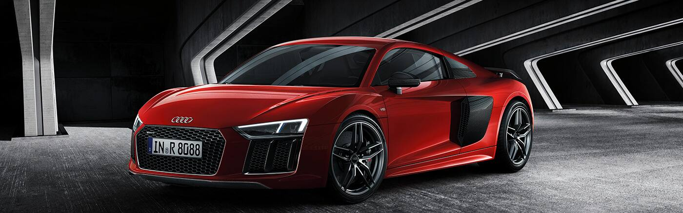 Audi R8 Coupé. Go To Previous Page; Go To Next Page.  1400x438_AR8_151004_1