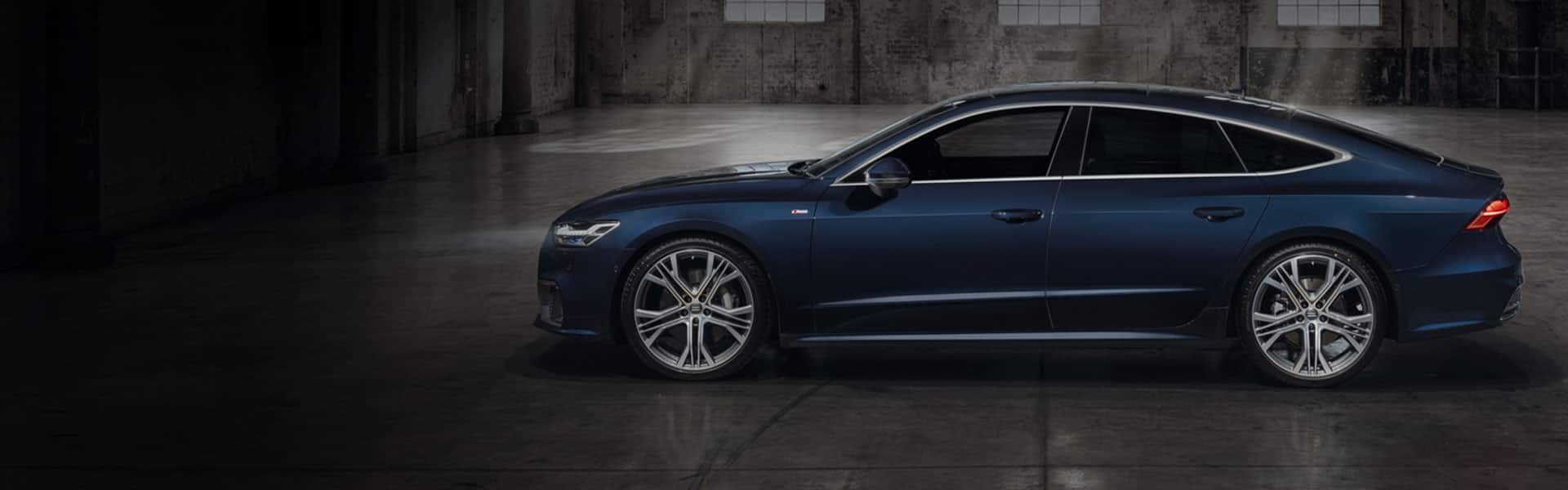The new Audi A7 Sportback.