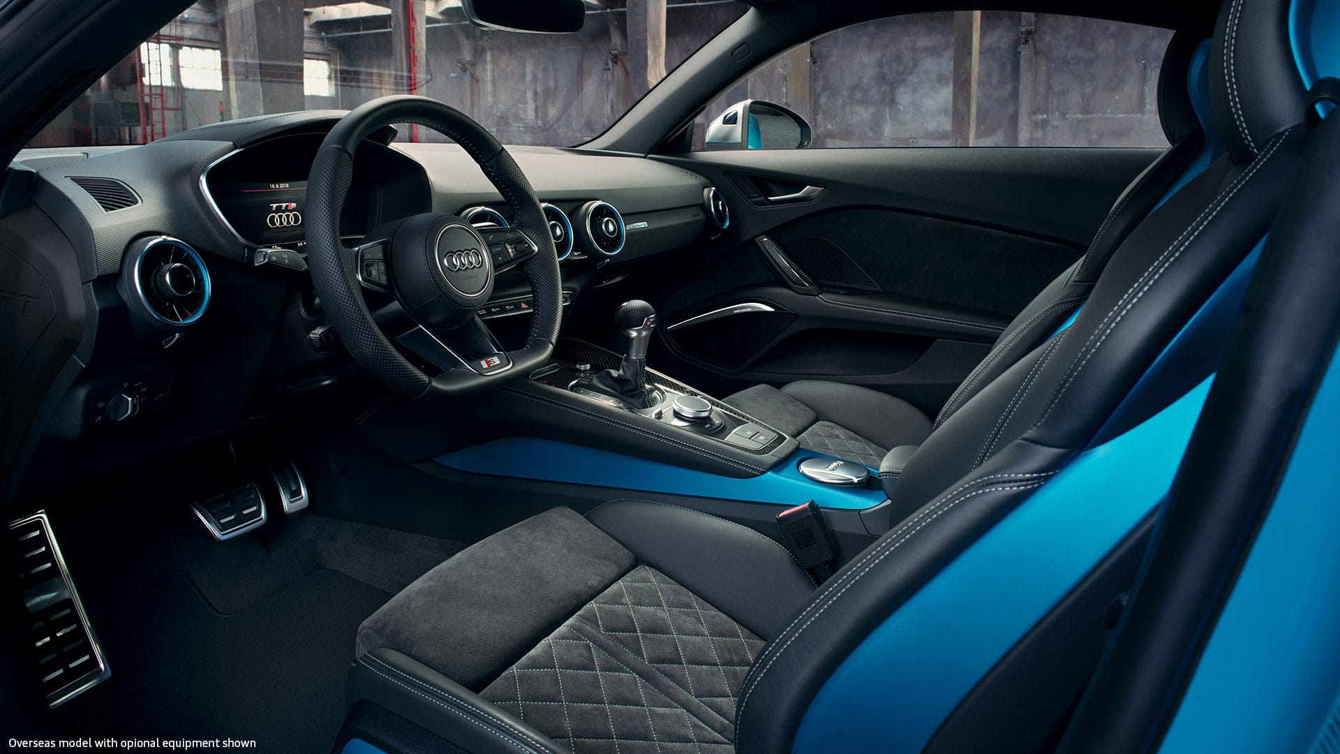 THe Audi TTS Coupe Interior